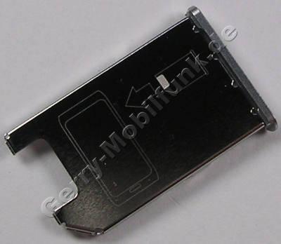 Simkartenhalter silber weiss Nokia E7-00 original Halter der Simkarte silver white