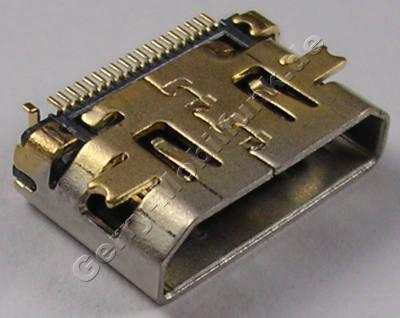 HDMI System Konnektor Nokia E7-00 original SMD Systemanschlußbuchse CONN AV/VID 19POL 40V0.5A P0.4