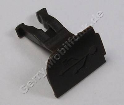 Abdeckung cocoa USB-Anschluß Nokia 6300i original Kappe USB