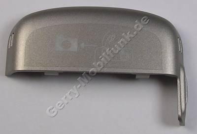 Antennenabdeckung silber Nokia 6260 Slide original Antennen Cover, hintere Abdeckung burn silver