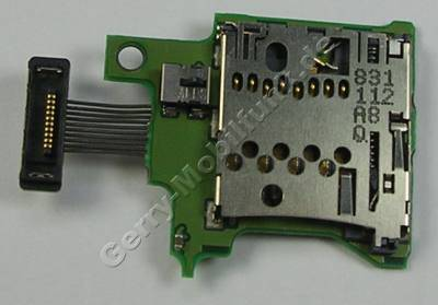 Speicherkartenleser Mikro SD Nokia 6260 Slide original Kartenlese-Modul mit Anschluß Flexkabel