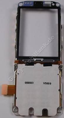 Tastaturmodul, Displayrahmen Nokia 5630 Xpress Music original Tastaturplatine mit Lautsprecher, Tastaturflex