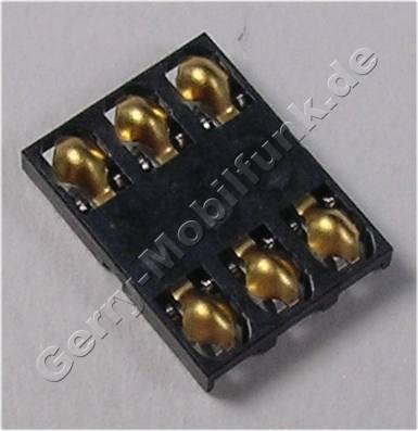 Simkartenleser Nokia X2-00 original Konnektor Simkarte 6 polig