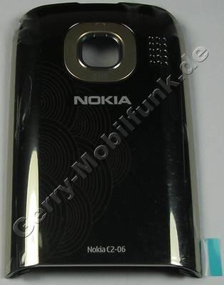 Akkufachdeckel gold Nokia C2-03 original B-Cover goldem buff Batteriefachdeckel, Akkudeckel