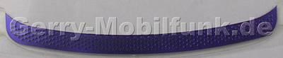 Vordere Abdeckung purple Nokia 700 original Label vorne unter dem Display lila