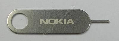Simkarten Werkzeug Nokia Lumia-720 original Öffnungswerkzeug um die Simkarte aus dem Gerät zu nehmen, Sim Door Key