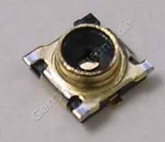 Coax Konnektor  Nokia 603 original SMD COAX SWG, Meßstelle der Antennenleitung auf dem Mainboard