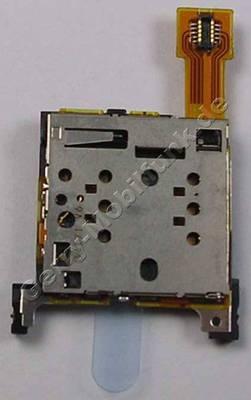 Simkartenleser Nokia 515 original Sim Konnektor der 2. Simkarte, Lötbauteil