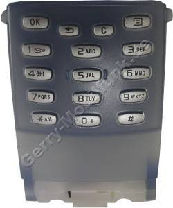Tastenmatte electric blue (blau) SonyEricsson P800 Tastaturklappe